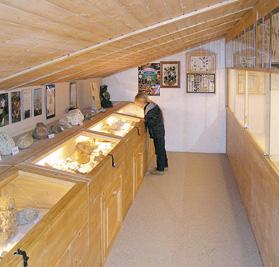 Edelsteinsammlung © Museum Jochberg