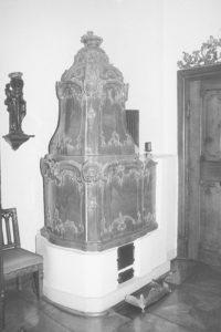 Ofen im Schloss Urstein © Bundesdenkmalamt