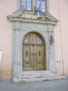 Schloss Urstein Portal © Zaisberger