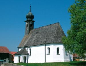 Wallfahrtskirche St. Leonhard in Holzhausen © H. Roth