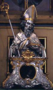 Reliquiar des hl. Zeno, Bad Reichenhall © J. Lang
