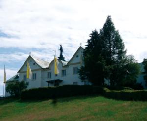 Das Klostergebäude in Maria Eck © C. Soika