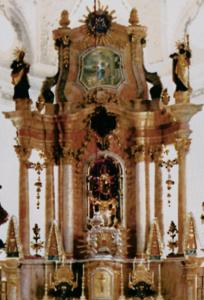 Hochaltar mit Gnadenbild © Prälat Walter Brugger