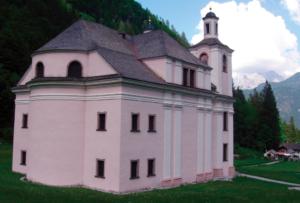 """Das auch als """"Pinzgauer Dom"""" bekannte Gotteshaus von Maria Kirchental © J. Lang"""