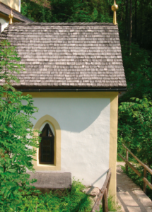 Die Brunnenkapelle, wo die Wallfahrt ihren Ursprung hatte © J. Lang