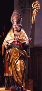 St. Valentin, bis 1626 im Hochaltar aufgestellt © J. Lang