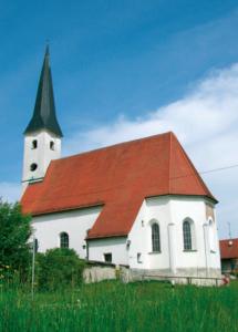 Wallfahrtskirche in Niederheining bei Laufen a.d. Salzach © H. Roth