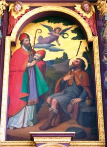 Hochaltarbild mit den hll. Dionysius und Koloman © H. Roth