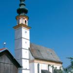 Wallfahrtskirche St. Leonhard am Wonneberg © H. Roth