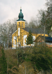 Wallfahrtskirche St. Pankraz nahe Nußdorf am Haunsberg © H. Roth