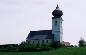 Pfarrkirche St. Georg in Surberg © C. Soika