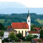 Wallfahrtskirche St. Florian in Tettenhausen bei Waging © H. Roth