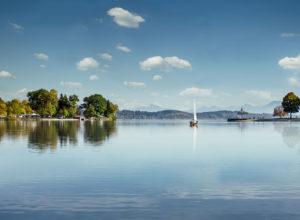 Blick über den Waginger See © Tourist-Info Waginger / Richard Scheuerecker